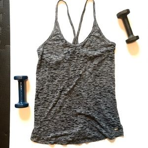Victoria's Secret Sport Grey Strappy Tank Top